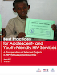 Image of Best Practices for Adolescent- and Youth-Friendly HIV Services in PEPFAR-Supported Countries