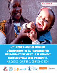 Call for the acceleration of the elimination of mother-to-child HIV transmission and antiretroviral treatment for children in West and Central Africa by 2020