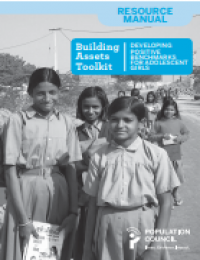 Building Assets Toolkit: Developing Positive Benchmarks for Adolescent Girls (2015)