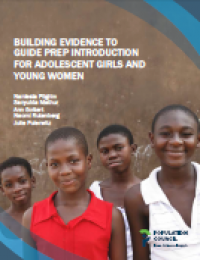Building Evidence to Guide PrEP Introduction for Adolescent Girls and Young Women (2016)
