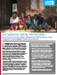 HIV-sensitive Social Protection - Report (2018)