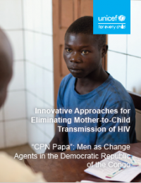 Innovative Approaches: Men as Change Agents in DRC