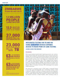 Integrated Testing for TB and HIV in Zimbabwe Brief