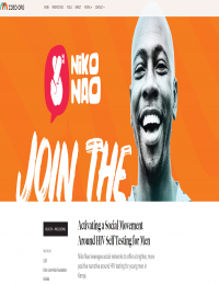 Niko Nao: Activating a Social Movement Around HIV Self Testing for Men