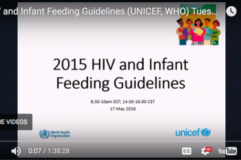 Image of HIV Infant Feeding Guidelines Presentation