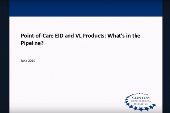POC EID and VL Products: What's in the Pipeline?