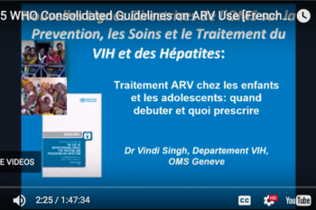 Image for 2015 WHO Consolidated Guidelines (French)