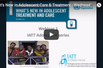 Image of What's New in Adolescent Care & Treatment