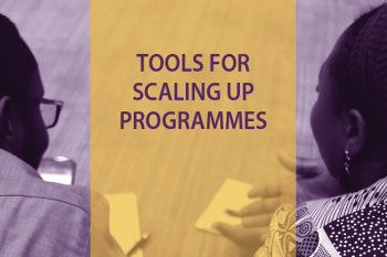 Tools for scaling up programmes