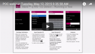 POC Webinar - The PIMA Procurement Guide (May 2015)