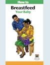 Image of Brochure for Breastfeeding your baby
