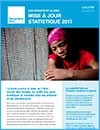 hildren and AIDS Statistical Update - French cover