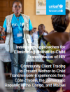 Innovative Approaches: Community Client Tracing Experiences