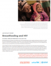 Global Breastfeeding Collective: Advocacy Brief on Breastfeeding and HIV