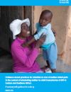 Evidence-based practices for retention in care of mother-infant pairs in the context of eliminating mother-to-child transmission of HIV in Eastern and Southern Africa