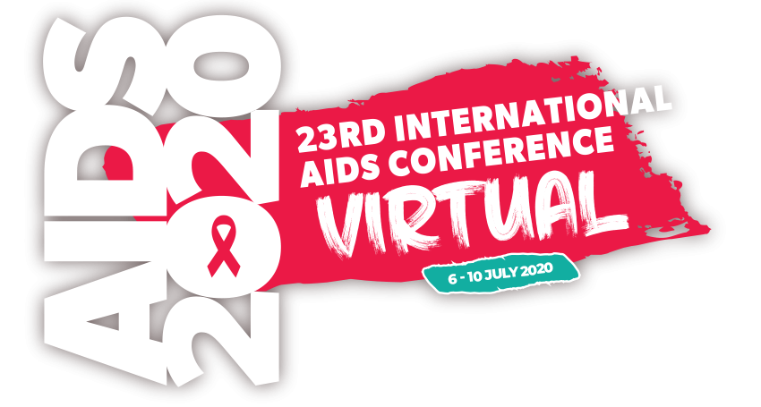 Aids 2020 conference logo